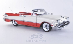Modelcar - <strong>Dodge</strong> customs Royal Lancer Convertible, white/red, canopy open, without showcase, 1959<br /><br />Sun Star, 1:18<br />No. 181263