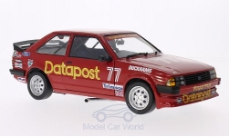 voiture miniature - <strong>Ford</strong> Escort MKIII RS 1600i, RHD, No.77, royal e-mail Datapost, Britannique Saloon Car Championship, R.Longman, 1984<br /><br />Sun Star, 1:18<br />N° 181281
