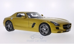 Modelcar - <strong>Mercedes</strong> SLS AMG Coupe, gold<br /><br />Premium ClassiXXs, 1:12<br />No. 182184