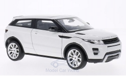 Modellauto - <strong>Land Rover</strong> Range Rover Evoque, weiss<br /><br />Welly, 1:24<br />Nr. 182675