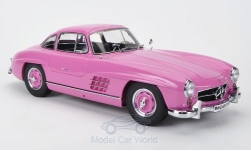 Modelcar - <strong>Mercedes</strong> 300 SL (W198), pink<br /><br />Premium ClassiXXs, 1:12<br />No. 183326