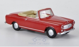 ModelCar - <strong>Peugeot</strong> 403, rot<br /><br />Brekina Drummer, 1:87<br />No. 183663
