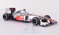Modellauto - <strong>McLaren</strong> MP4-27, No.3, GP Belgi�, Decals liegen bij, J.Button, 2012<br /><br />Spark, 1:43<br />Nr. 184198
