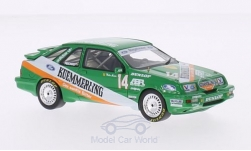 Modelcar - <strong>Ford</strong>  Sierra XR4Ti, No.14, Ringshausen Motor Sport, Kümmerling, DPM, Zolder, W.Mertes, 1987<br /><br />Neo, 1:43<br />No. 184381