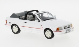 voiture miniature - <strong>Ford</strong> Escort MKIV XR3i cabriolet, blanche, 1986<br /><br />Neo, 1:43<br />N° 184450