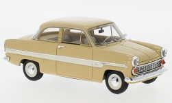 voiture miniature - <strong>Ford</strong> Taunus 12M (G13AL) Limousine, beige/blanche, 1959<br /><br />Neo, 1:43<br />N° 184649