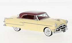ModelCar - <strong>Packard</strong> Pacific Coupe, beige/metallic-dunkelrot, 1954<br /><br />Neo, 1:43<br />番号 185548