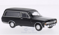 Modelcar - <strong>Ford</strong> Taunus P7 Pollmann, black, Funeral vehicle, 1969<br /><br />Neo, 1:43<br />No. 185704
