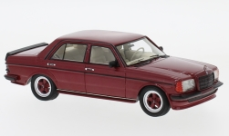 Modelcar - <strong>Mercedes</strong> W123 AMG metallic-dark red, 1980<br /><br />Neo, 1:43<br />No. 185772