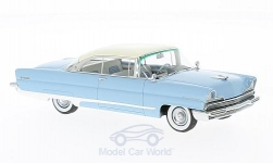 ModelCar - <strong>Lincoln</strong> Premiere Hardtop, hellblau/weiss, 1956<br /><br />Neo, 1:43<br />No. 185921