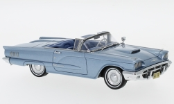 Modellauto - <strong>Ford</strong> Thunderbird Convertible, metallic-hellblau, 1960<br /><br />Neo, 1:43<br />Nr. 185954