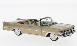 Modelcar - <strong>Oldsmobile</strong> 98 Convertible, metallic-dunkelbeige, 1959<br /><br />Neo, 1:43<br />No. 185973