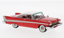 Modelcar - <strong>Plymouth</strong> Fury Hardtop, red/white, 1958<br /><br />Neo, 1:43<br />No. 185978