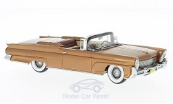 ModelCar - <strong>Lincoln</strong> Continental MKIII Convertible, kupfer, 1958<br /><br />Neo, 1:43<br />No. 185996