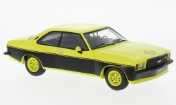 Modelcar - <strong>Opel</strong> Commodore B GS/E Steinmetz, light yellow/black, 1974<br /><br />Neo, 1:43<br />No. 186000