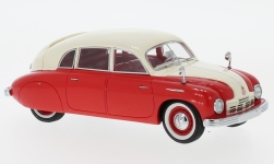 Modellauto - <strong>Tatra</strong> T600 Tatraplan, rot/beige, 1948<br /><br />Neo, 1:43<br />Nr. 186039