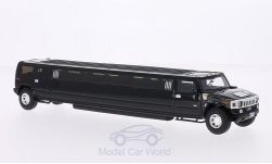 Modellauto - <strong>Hummer</strong> H2 Stretchlimousine, schwarz<br /><br />Neo, 1:43<br />Nr. 186349