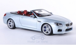 Modellauto - <strong>BMW</strong> M6 Kabriolet (F12), zilver, 2012<br /><br />I-Paragon, 1:18<br />Nr. 186715