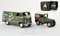 Modellauto - <strong>Set</strong> of de Jaar 2013 Persil (Dixi/MB L319)<br /><br />Bub, 1:87<br />Nr. 186835