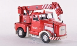 Modellauto - <strong>Kaelble</strong> K650, Brandweer Unfallzug Kraan<br /><br />Bub, 1:87<br />Nr. 186838