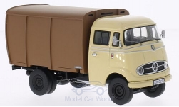 Modelcar - <strong>Mercedes</strong> L 319, beige/brown, cattle transporter<br /><br />Premium ClassiXXs, 1:43<br />No. 186906