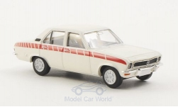Modelcar - <strong>Opel</strong> Ascona A Swingers, white/Decorated, TD<br /><br />Brekina, 1:87<br />No. 187281