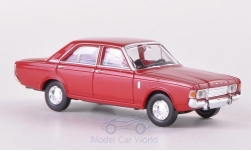 Modelcar - <strong>Ford</strong> 17m (P7b), dark red<br /><br />Brekina, 1:87<br />No. 187288
