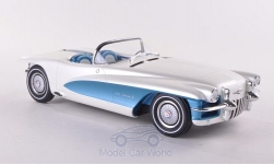 Modelcar - <strong>Cadillac</strong> LaSalle II Roadster Concept, metallic-white/light blue, General Motors Motorama, Bortz Car Collection, 1955<br /><br />Minichamps, 1:18<br />No. 188929