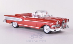 Modelcar - <strong>Edsel</strong> Citation Convertible, metallic-red/white, 1958<br /><br />Spark, 1:43<br />No. 189991