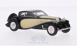 Modelcar - <strong>Bugatti</strong> Type 50 T, black/beige, RHD, 1930<br /><br />Look Smart, 1:43<br />No. 190029