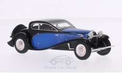 Modelcar - <strong>Bugatti</strong> Type 50 T, black/blue, RHD, 1930<br /><br />Look Smart, 1:43<br />No. 190030