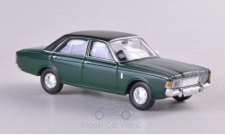 Modelcar - <strong>Ford</strong> 20m (P7b), dark green/matt-black<br /><br />Brekina, 1:87<br />No. 190422