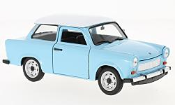 Modelcar - <strong>Trabant</strong> 601, light blue/white<br /><br />Welly, 1:24<br />No. 190468