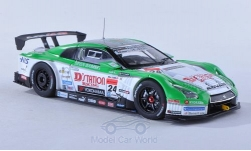 Modellauto - <strong>Nissan</strong> GT-R (R35), No.24, Dstation Racing, Super GT 500, H.Yasuda/M.Krumm, 2013<br /><br />Ebbro, 1:43<br />Nr. 190676