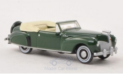 Modellauto - <strong>Lincoln</strong> Continental, dunkelgrün, ohne Vitrine, 1941<br /><br />Oxford, 1:87<br />Nr. 190739
