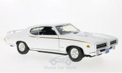 Modellauto - <strong>Pontiac</strong> GTO Judge, weiss, 1969<br /><br />Motormax, 1:18<br />Nr. 191156