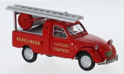 Modellauto - <strong>Citroen</strong> 2CV Pick-up, Pompiers (F), 1963<br /><br />Norev, 1:43<br />Nr. 191711