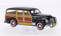 Modelcar - <strong>Chevrolet</strong> Deluxe Station Wagon, black/wood optics, 1941<br /><br />Neo, 1:43<br />No. 192638