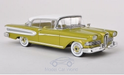 Modelcar - <strong>Edsel</strong> Citation 2-Door Hardtop Coupe, metallic-light green/white, 1958<br /><br />Spark, 1:43<br />No. 192764