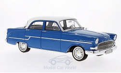 Modelcar - <strong>Opel</strong> captain, blue/white, 1956<br /><br />BoS-Models, 1:18<br />No. 192956