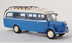 Modelcar - <strong>Steyr</strong> 380/I bus, blue/white<br /><br />Brekina Starline, 1:87<br />No. 193069