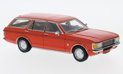 voiture miniature - <strong>Ford</strong> Granada MK I Turnier, rouge clair, 1972<br /><br />Neo, 1:43<br />N° 193413