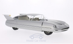 Modellauto - <strong>Borgward</strong> Dream Cars, zilver, 1955<br /><br />BoS-Models, 1:18<br />Nr. 193560
