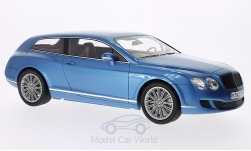 Modelcar - <strong>Bentley</strong> Continental Flying star by Touring, metallic-blue, 2010<br /><br />BoS-Models, 1:18<br />No. 193766