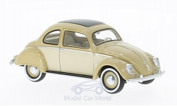 ModelCar - <strong>VW</strong> Stoll Coupe, dunkelbeige/hellbeige, 1952<br /><br />Neo, 1:43<br />No. 193822