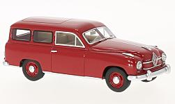 Modelcar - <strong>Borgward</strong> Hansa 1500 station wagon red, 1951<br /><br />Neo, 1:43<br />No. 193832
