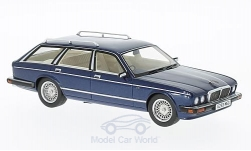 Modelcar - <strong>Jaguar</strong> XJ40 Shooting Brake, metallic-dark blue, RHD, 1989<br /><br />Neo, 1:43<br />No. 193909