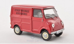 Modellauto - <strong>Glas</strong> Goggomobil TL250,  Stadtwerke Augsburg, zonder Vitrine, 1963<br /><br />SpecialC.-66, 1:43<br />Nr. 193984