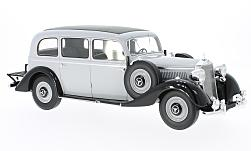 Modelcar - <strong>Mercedes</strong> 260D Pullman, light grey/black, 1937<br /><br />BoS-Models, 1:18<br />No. 194353