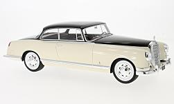 Modellauto - <strong>Mercedes</strong> 300B Pininfarina, beige/dunkelbraun, ohne Vitrine, 1955<br /><br />BoS-Models, 1:18<br />Nr. 194360